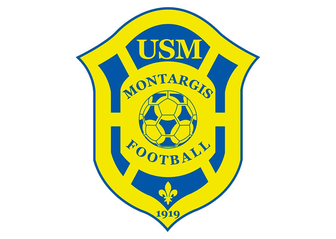 Logo USM Montargis football